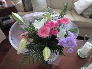 Beautiful flowers from my wonderful kids