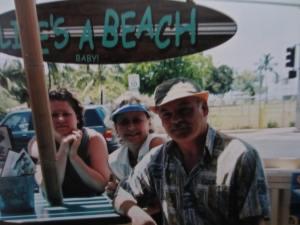 "Happy Hour at ""Life's a Beach""    Maui 2003"
