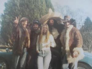 Ken, second from left......the boys (and one of their girlfriends) on a typical weekend afternoon in the early 70's....