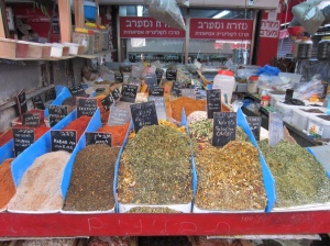 spices at the market....the smell is incredible!