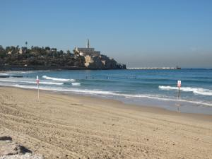 Jaffa....just a 10 minute walk down the beach from Tel Aviv