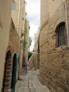 one of the streets in Jaffa