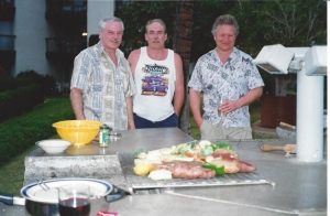 15+ years ago.....Ken, his brother and our friend, T.
